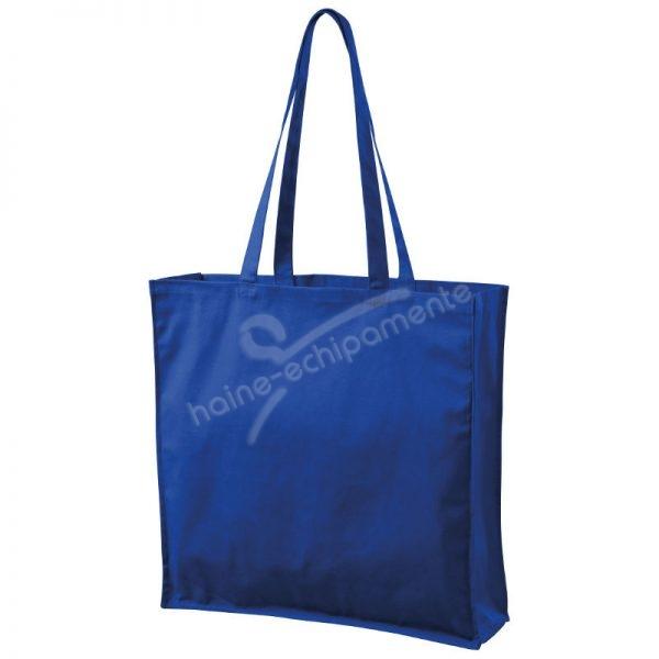 901 Sacosa pentru cumparaturi albastru regal, uni, large