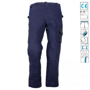 Pantalon in talie Commander Navy