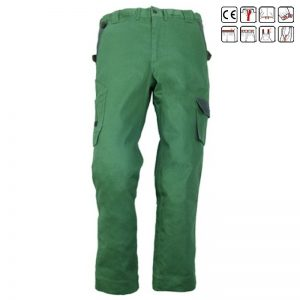 Pantalon in talie Technicity green