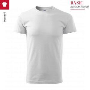 Tricou pentru barbati BASIC, culoare alb