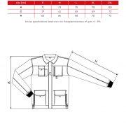 Tabel pentru marimi W51 WOODY