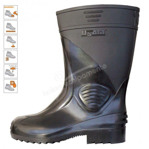 9005 Cizme protectie apa-noroi tip S5 PVC negre