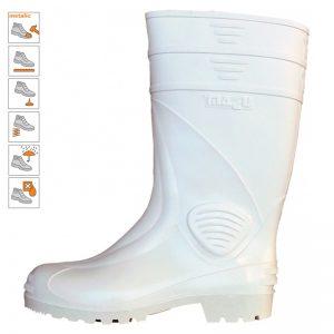 9007 Cizme protectie industria alimentara tip S5 albe