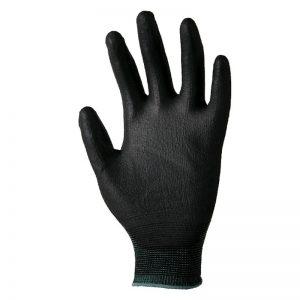 A9001 Manusi impregnate cu poliuretan, culoare negru