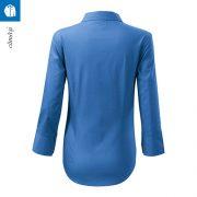 Camasa de dama, culoare albastru azuriu
