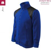 Jacheta albastru regal din fleece, model unisex, HI-Q