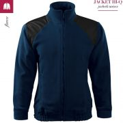 Jacheta albastru marin din fleece, model unisex, HI-Q