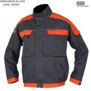 Bluza de lucru barbati Cool Trend, gri cu portocaliu