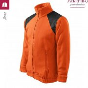 Jacheta portocaliu din fleece, model unisex, HI-Q