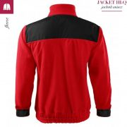 Jacheta rosu din fleece, model unisex, HI-Q