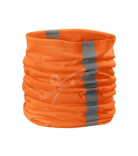 Esarfa Twister - portocaliu