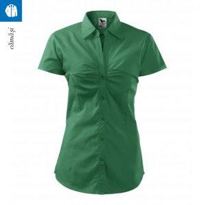 Camasa de dama Chic, verde mediu