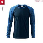Bluza albastru marin barbati, Street Ls.