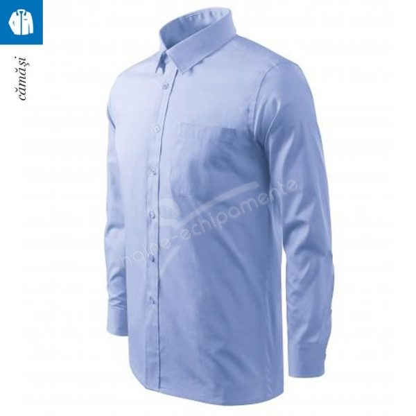 Camasa barbati cu maneca lunga, albastru deschis