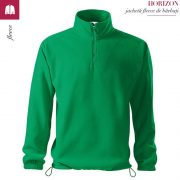 Jacheta fleece barbati, verde mediu, Horizon