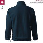 Jacheta fleece barbati, albastru marin, Horizon