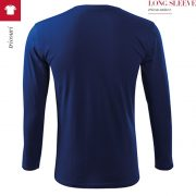 Tricou unisex Long Sleeve, albastru regal