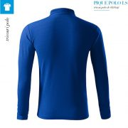 Bluza albastru regal polo barbati, Pique Polo