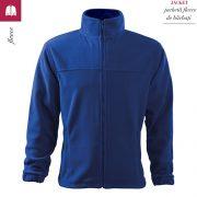 Jacheta albastru regal din fleece pentru barbati, Jacket