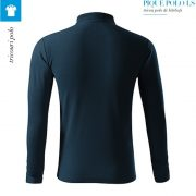 Bluza albastru marin polo barbati, Pique Polo