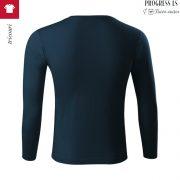 Tricou unisex Progress Ls, albastru marin
