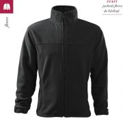 Jacheta ebony gray din fleece pentru barbati, Jacket