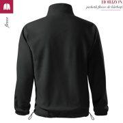 Jacheta fleece barbati, ebony gray, Horizon