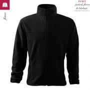 Jacheta neagra din fleece pentru barbati, Jacket