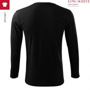 Tricou unisex Long Sleeve, negru
