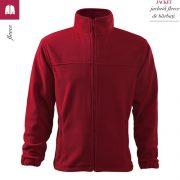 Jacheta rosu marlboro din fleece pentru barbati, Jacket