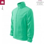 Jacheta verde menta din fleece pentru barbati, Jacket