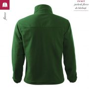 Jacheta verde sticla din fleece pentru barbati, Jacket