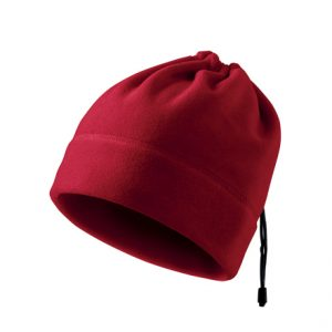Caciula fleece unisex multifunctionala - rosu marlboro