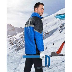 Jacheta de iarna albastra MILTON
