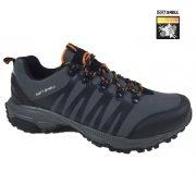 Pantofi sport din material softshell, Feet, culoare gri