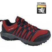 Pantofi sport din material softshell, Feet, culoare rosu marlboro