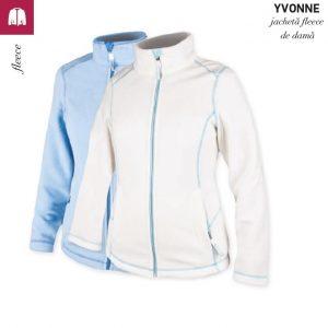 Jacheta fleece de dama, Yvonne