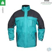 Jacheta iarna turcoaz, River