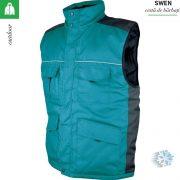 Vesta de iarna, impermeabila Swen, verde