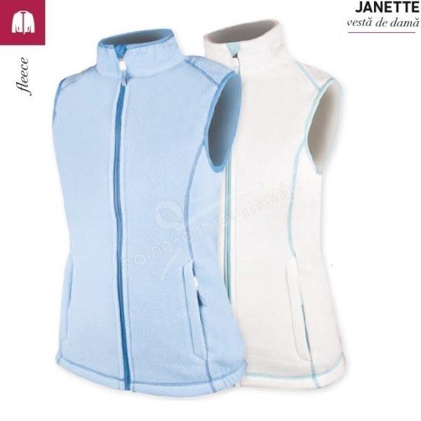Vesta fleece de dama Janette