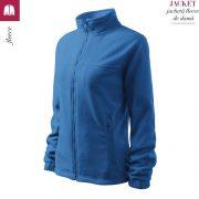 Jacheta albastru azuriu fleece de dama, Jacket
