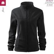 Jacheta ebony gray fleece de dama, Jacket