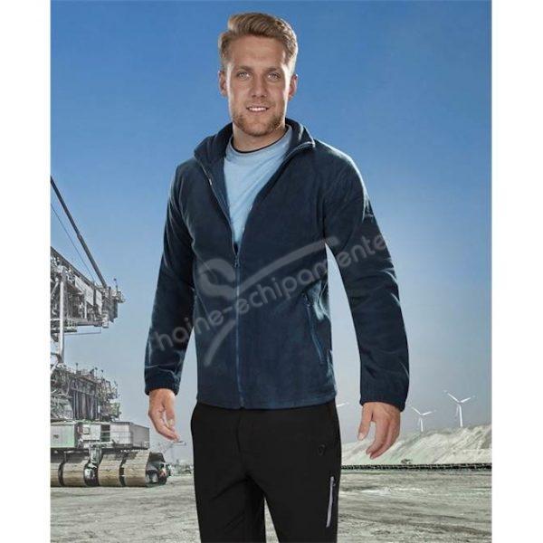 Jacheta bleumarin barbati din fleece, Polar