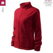 Jacheta rosu marlboro fleece de dama, Jacket