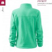 Jacheta verde menta fleece de dama, Jacket