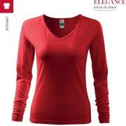 Bluza rosu de dama, Elegance