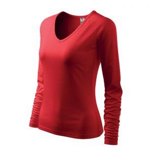 Tricou de dama Elegance - culoare rosu