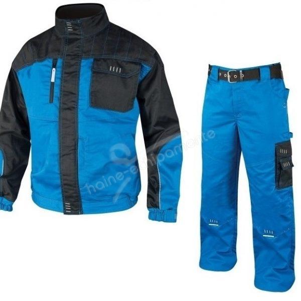 Costum salopeta clasica 4Tech - albastru azuriu