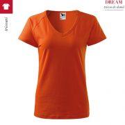 Tricou portocaliu dama, Dream