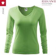 Bluza verde iarba de dama, Elegance